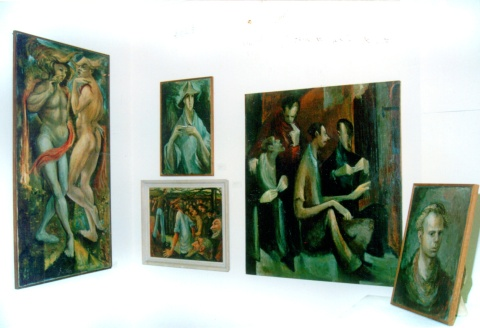 Memorial exhibition held at the Lyttleton Gallery in Castlemaine, Victoria in June 1987