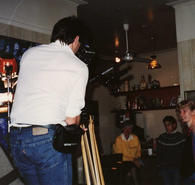 Camera man at Canterbury. The video of the segment that was aired on SBS and expanded interviews is currently missing.