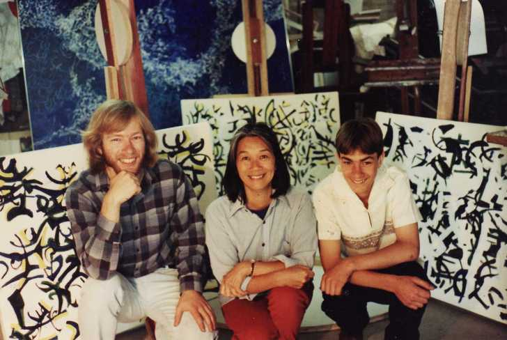 Philip and I with new recruit Joyce Yuen February 1988