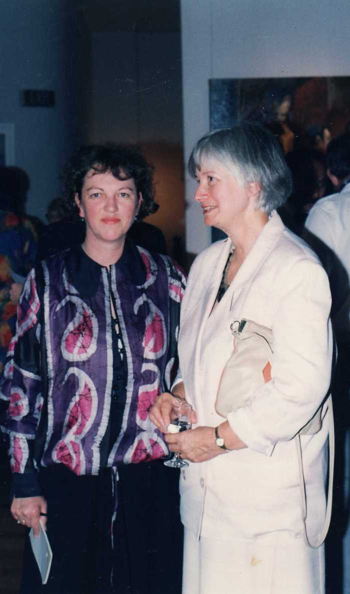 Jan Martin with my mother Cynthia Graham