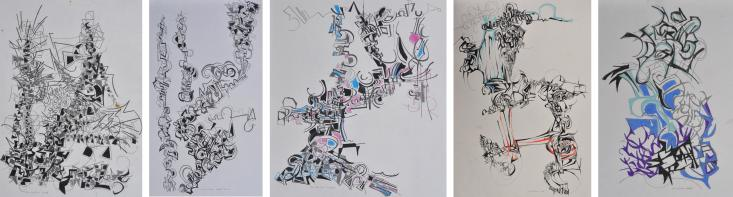 Drawings from 1988