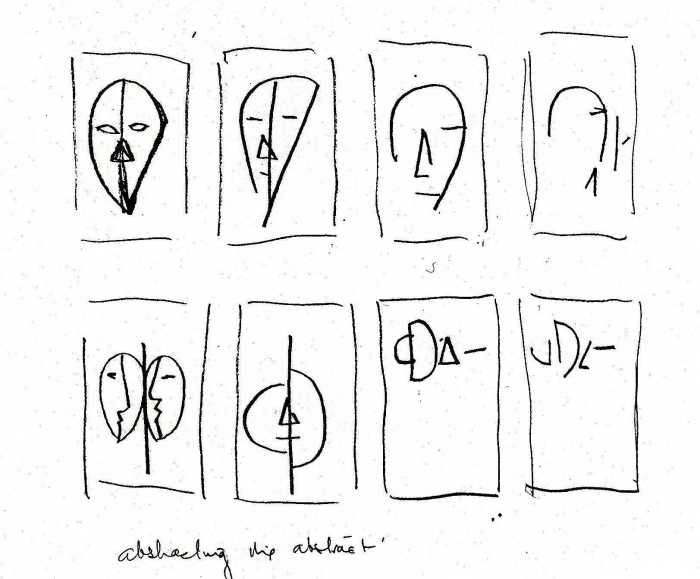 Abstracting the abstract by Peter Graham showing the derivation of the theme