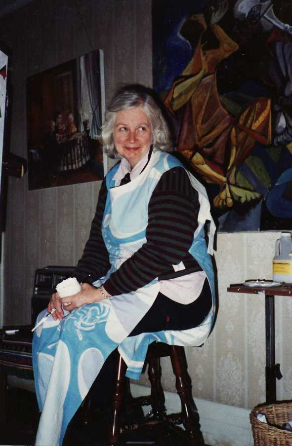 Cynthia Graham participating 11/7/1990