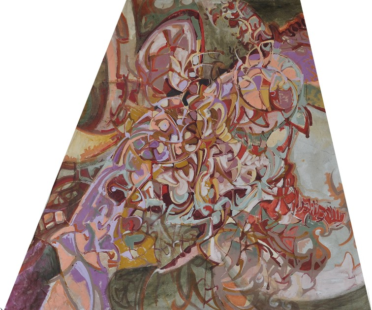 """""""Drop Sheet"""" 1992 Visual Jazz collaboration"""