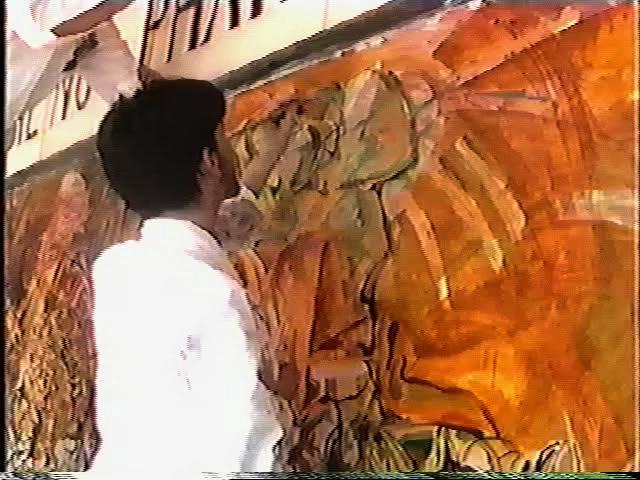 """Baden Johnson - """"The Canterbury Mural"""" 1992"""